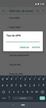Configura el Internet - Motorola One Vision (Single SIM) - Passo 13