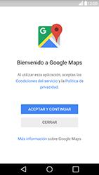 Uso de la navegación GPS - LG G5 - Passo 4