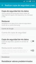 Restaura la configuración de fábrica - Samsung Galaxy S6 Edge - G925 - Passo 5