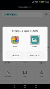 Envía fotos, videos y audio por mensaje de texto - Huawei Mate S - Passo 13