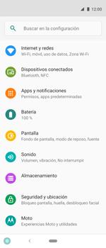 Desactiva tu conexión de datos - Motorola One Vision (Single SIM) - Passo 3