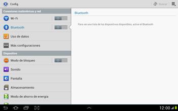 Conecta con otro dispositivo Bluetooth - Samsung Galaxy Note 10-1 - N8000 - Passo 5