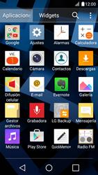 Envía fotos, videos y audio por mensaje de texto - LG K4 - Passo 2