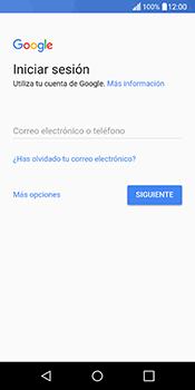 Crea una cuenta - LG Q6 - Passo 2