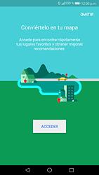 Uso de la navegación GPS - Huawei P9 Lite 2017 - Passo 4