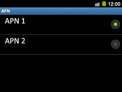 Configura el Internet - Samsung Galaxy Y Pro GT - B5510 - Passo 17