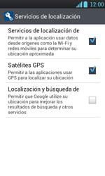 Uso de la navegación GPS - LG Optimus L7 - Passo 8