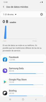 Verificar el uso de datos por apps - Samsung Galaxy S20 - Passo 6