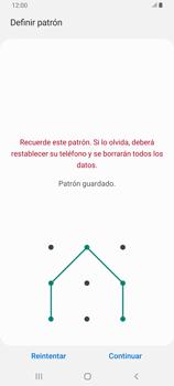 Desbloqueo del equipo por medio del patrón - Samsung Galaxy A80 - Passo 8