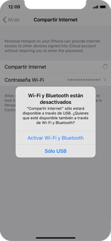 Configura el hotspot móvil - Apple iPhone XS - Passo 7