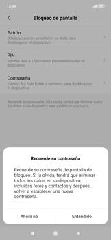 Desbloqueo del equipo por medio del patrón - Xiaomi Redmi Note 7 - Passo 6
