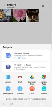 Transferir fotos vía Bluetooth - Samsung Galaxy S9 Plus - Passo 12
