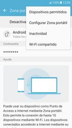 Configura el hotspot móvil - Samsung Galaxy S7 - G930 - Passo 8