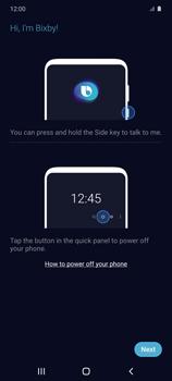 Cómo habilitar el asistente Bixby - Samsung Galaxy S10 Lite - Passo 3
