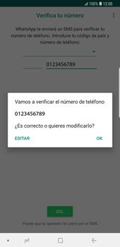 Configuración de Whatsapp - Samsung Galaxy S9 Plus - Passo 9