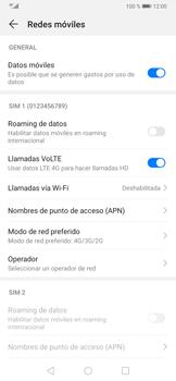 Configurar el equipo para navegar en modo de red LTE - Huawei P30 - Passo 6