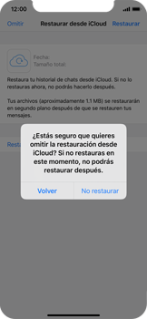 Configuración de Whatsapp - Apple iPhone 11 Pro - Passo 11