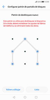 Desbloqueo del equipo por medio del patrón - Huawei Mate 10 Pro - Passo 9