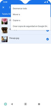 Transferir datos desde la tarjeta SD a tu dispositivo - Motorola Moto G8 Play (Single SIM) - Passo 8