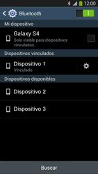Conecta con otro dispositivo Bluetooth - Samsung Galaxy S4  GT - I9500 - Passo 8