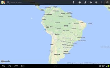 Uso de la navegación GPS - Samsung Galaxy Note 10-1 - N8000 - Passo 11