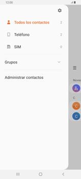 ¿Tu equipo puede copiar contactos a la SIM card? - Samsung Galaxy A80 - Passo 5