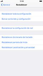 Restaura la configuración de fábrica - Apple iPhone 8 - Passo 5