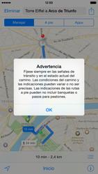 Uso de la navegación GPS - Apple iPhone 6 - Passo 8