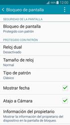 Desbloqueo del equipo por medio del patrón - Samsung Galaxy A5 - A500M - Passo 15