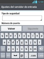 Configura tu correo electrónico - LG Optimus L3 II - Passo 12