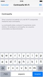 Configura el hotspot móvil - Apple iPhone 6 - Passo 5