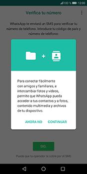 Configuración de Whatsapp - Huawei P Smart - Passo 5