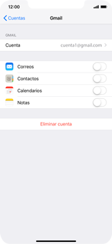 Desactivar la sincronización automática - Apple iPhone XS Max - Passo 9