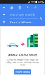Uso de la navegación GPS - Samsung Galaxy Core Prime - G360 - Passo 11