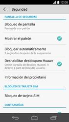 Desbloqueo del equipo por medio del patrón - Huawei Ascend P6 - Passo 11