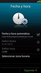 Activa el equipo - Samsung Galaxy S4 Mini - Passo 7