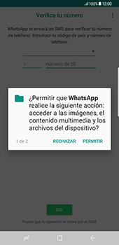 Configuración de Whatsapp - Samsung Galaxy S8+ - Passo 6