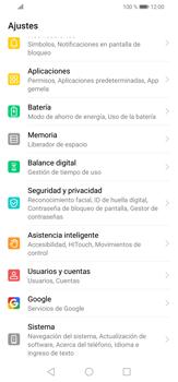 Realiza una copia de seguridad con tu cuenta - Huawei P30 Lite - Passo 3