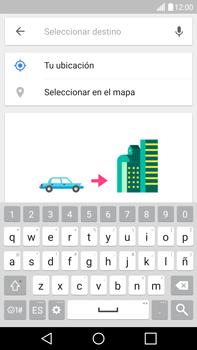 Uso de la navegación GPS - LG V10 - Passo 14