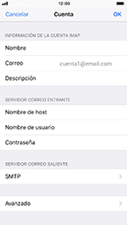 Configura tu correo electrónico - Apple iPhone 8 - Passo 24