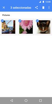 Transferir fotos vía Bluetooth - Motorola Moto G6 Plus - Passo 8