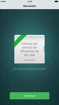 Configuración de Whatsapp - Apple iPhone 6 Plus - Passo 12