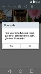 Transferir fotos vía Bluetooth - LG C50 - Passo 9