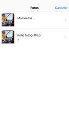 Envía fotos, videos y audio por mensaje de texto - Apple iPhone 6s - Passo 9