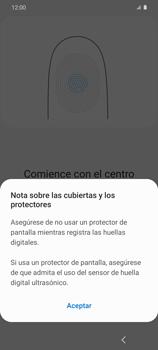 Habilitar seguridad de huella digital - Samsung Galaxy S20 - Passo 11