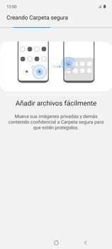 Cómo habilitar la función Bloqueo de aplicaciones - Samsung Galaxy A51 - Passo 10