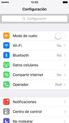 Configura el hotspot móvil - Apple iPhone SE - Passo 3