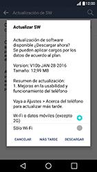 Actualiza el software del equipo - LG K10 - Passo 11