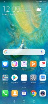 Transferir fotos vía Bluetooth - Huawei Mate 20 Pro - Passo 2
