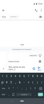 Envía fotos, videos y audio por mensaje de texto - Motorola One Vision (Single SIM) - Passo 9